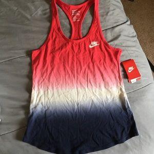 Nike Ombré Workout Shirt Tank Top